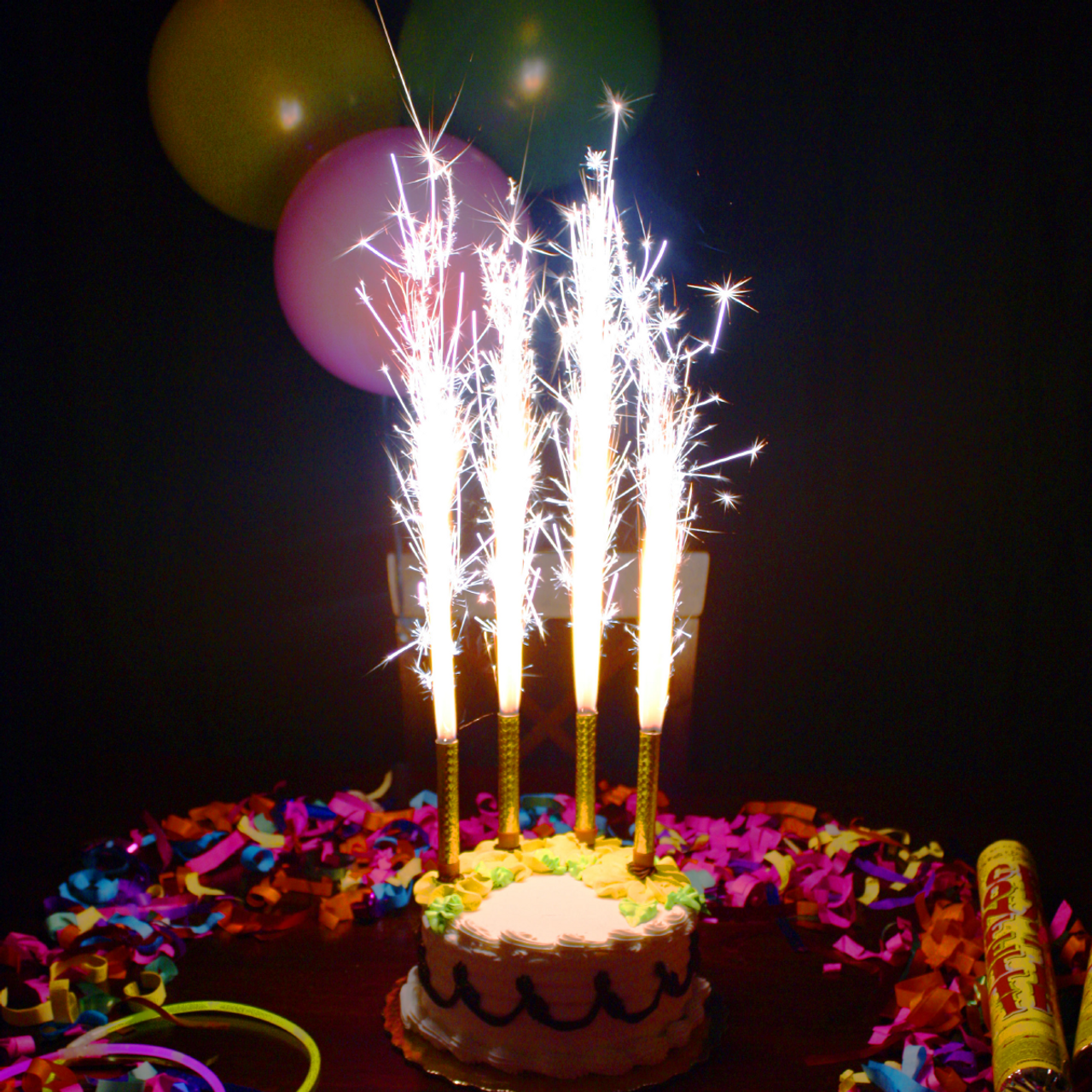 Cake Sparklers Sparkler Party Nightclub Supplies
