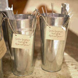 Wedding Bucket Display 15''