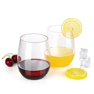 8 Piece Set of Wine Cups 16-ounce