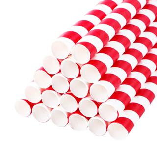 Jumbo Paper Drinking Straws 12mm Wide