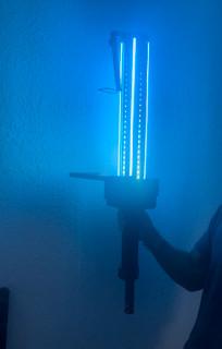 Giant LED Sword bottle presenter