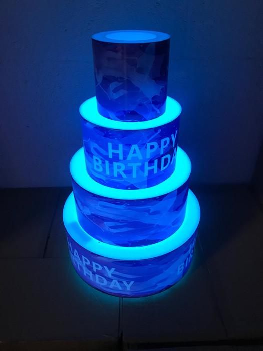 LED Bottle Presenter Cake Display
