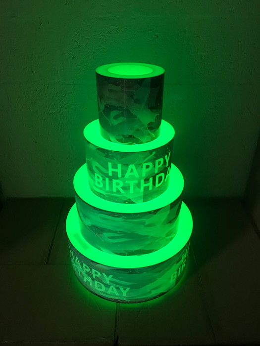 LED Bottle Presenter Cake Display