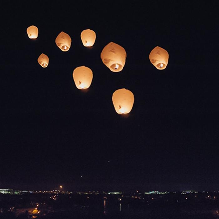 Sky Lantern - Pack of Six