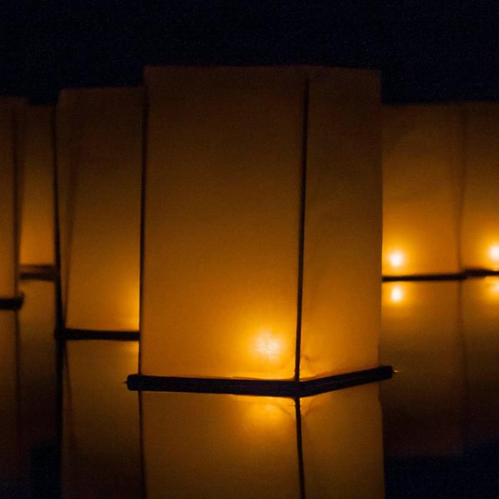 Floating Lanterns - Pack of Six