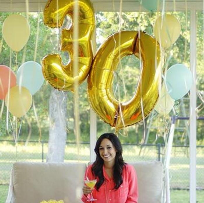Jumbo Number Balloons
