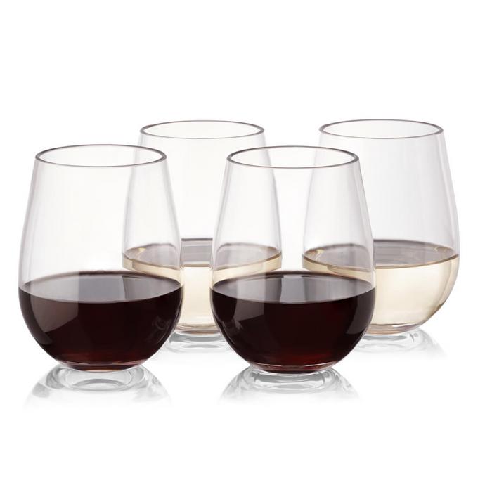 8 Piece Set of Wine Cups 16-ounce