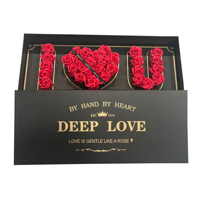 """I LOVE U"" Eternal Roses Long-Lasting Up To 3 Years!"