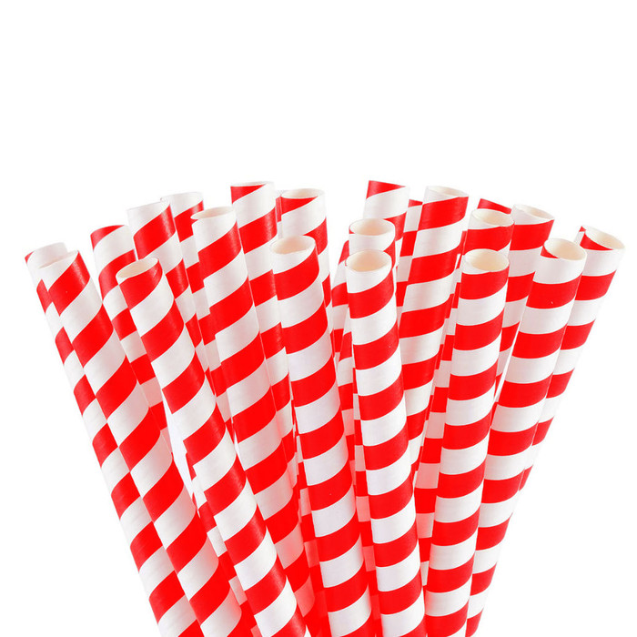 Jumbo Paper Drinking Straws 12mm Wide