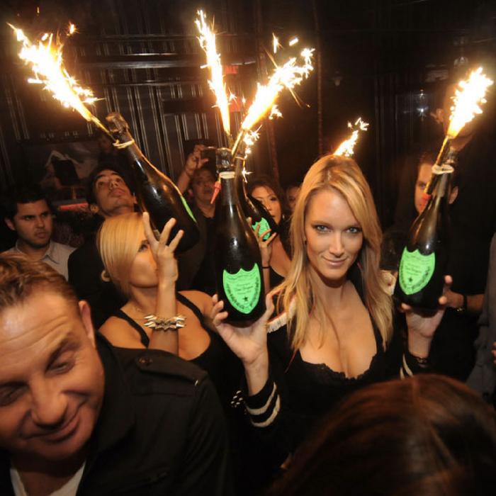 bottle sparklers by king of sparklers