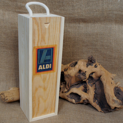 Wooden Printed Wineboxes - ideal corporate gifts