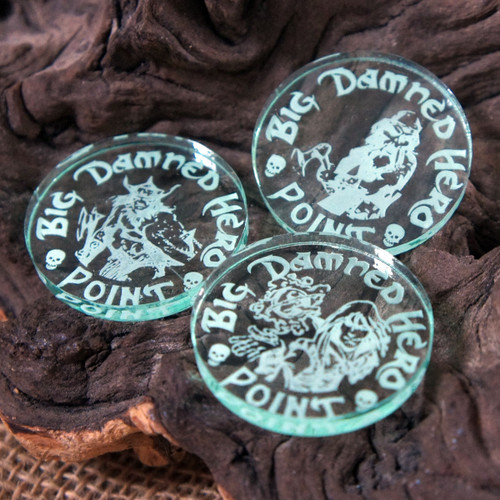 Engraved Acrylic Tokens - ideal drink and beer tokens