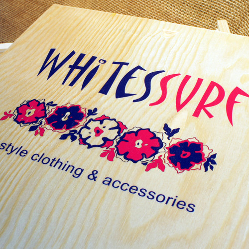 Winebox Replacement Lid (3 bottle) - Wooden - Printed full colour (from £5.00 each plus VAT)