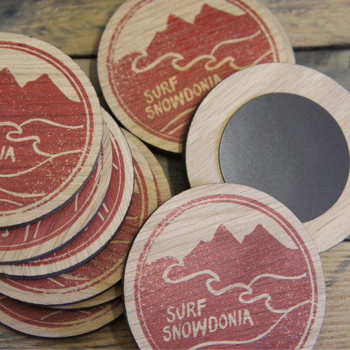 Printed Wooden Magnets - ideal business promotional gifts