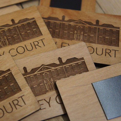 Wooden Promotional Magnets