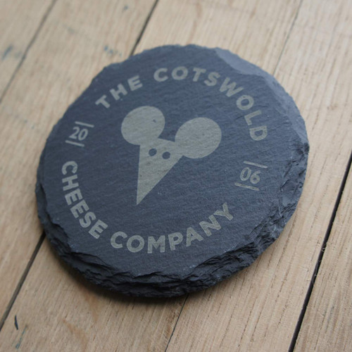 Slate Engraved Coasters - ideal for promotional events