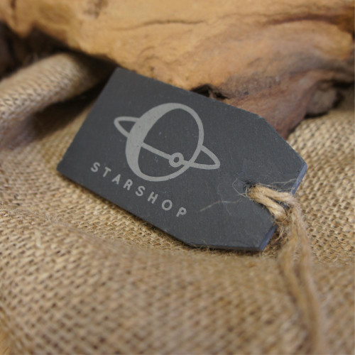 Engraved slate tags - ideal promotional giveaways