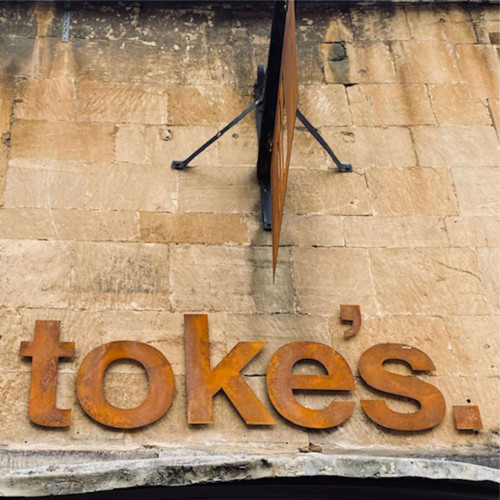 Cut out Corten Steel Letters, weathered steel letters, rusty steel letters