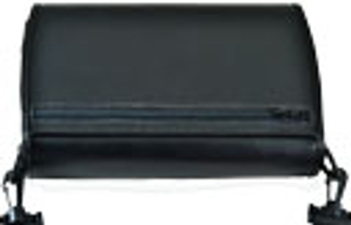 The B2G is a case made by EPI for the the National Braille Press. This is a tightly fitted case for your unit and will not allow your unit to slip out of the case. It is a custom fitted leather case and designed to enable the B2G user to easily utilize the braille computer while the case is on the unit, allowing the unit to be carried on a comfortable strap. The face of the unit is covered with a zipper pocket cover which may be opened / closed with magnet closures. The zipper pocket cover may be flipped on to the rear and secured under the unit if the user needs to utilize the note taker while walking. The large zipper pocket can store your ear buds and other items which provide security and protection. It is designed to enable the user to utilize the braille computer while the case is on. The case is equipped with black plastic hooks to provide security, durability and safety. EPI continues the tradition of creating a functional, durable, fitted case that is soft to your touch. Made in the U.S.A.