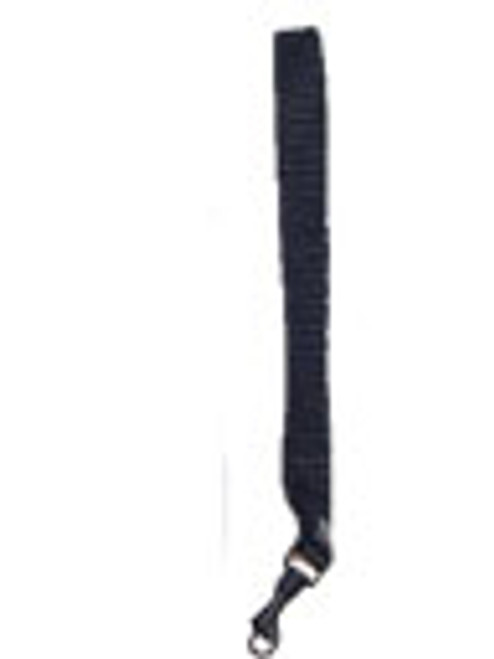 This is a 1/2 inch wrist strap to carry small items such as the VRS-2,BookSense Iphone products. The end of the strap has a metal swivel clips that secure to your case.