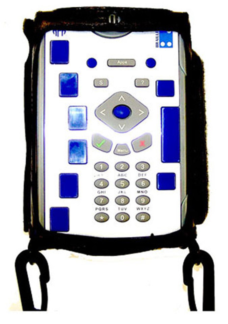 The EPI Braille + case is a fitted leather case that will not allow your unit to slip out of this case. It is a form fit custom leather case that enables the Braille + user to easily utilize the note taker. The case comes with a comfortable shoulder strap that will secure your unit while in transit. The face of the unit is covered with a zipper pocket cover which may be opened / closed with magnetic closures. The zipper pocket cover may be flipped on to the rear and secured under the unit if the user needs to utilize the note taker while walking. The large zipper pocket can store your ear buds and other items which provide security and protection. It is designed to enable the user to utilize your Braille + while the case is on. The case is equipped with black plastic hooks to provide security, durability and safety. EPI continues the tradition of creating functional, durable and beautiful fitted cases. Made in the U.S.A.