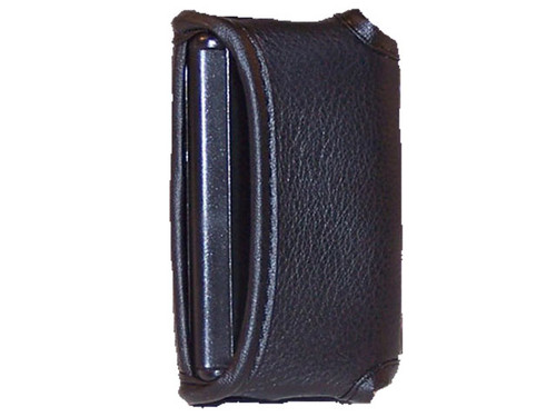 EPI has created a new form-fitted custom leather case for the iBill Bank Note identifier. This case is made of high grade leather that fits snuggly around the iBill. The case has been designed to enable the user to easily identify dollar notes while in case. The case has cut outs for the button controls, slot and speaker area. It comes with a leather covered spring metal clip.