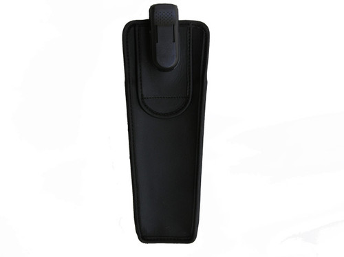"""The TurtleBack Leather Cane L8 holder come with a swivel clip that gives you the freedom of movement. When sitting, the cane holder can rotate 360 degrees and can also be detached from the main clip. The case measures 8"""" high by 2 1/2"""" wide, by 1 1/2"""" deep, with an enclosed bottom. This case can accomodate the 4 - 6 section folding cane. The TurtleBack black Leather case is made of high quality durable Leather. It can be clipped to your belt or can be slipped thru your belt.  Additionally, our cases feature the Ultra Swivel Belt Clip, a clip that is significantly stronger and offers more security than anything similar on the market today. The Ultra Clip™ can withstand pulling forces in excess of 130 pounds in any direction. We use nothing but the best materials to create a quality cases."""
