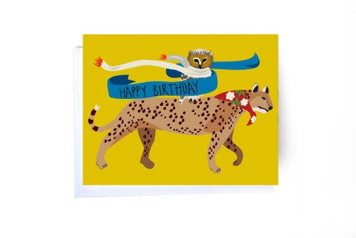 Happy Birthday - Cheetah