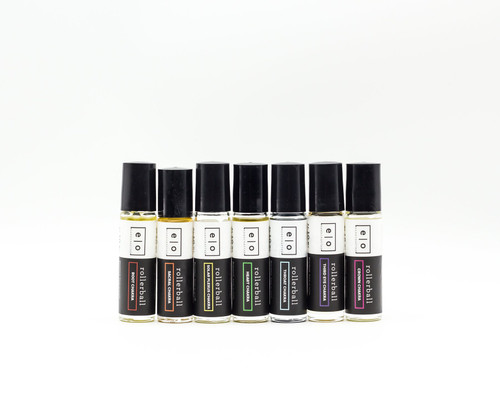 essential oil rollerballs - chakra collection