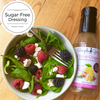 Citrus Ginger sugar-free and organic dressing great on salads for clean eating or diets.