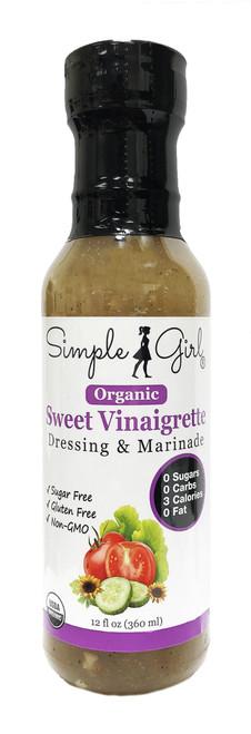 Simple Girl Organic Sweet Vinaigrette Salad Dressing