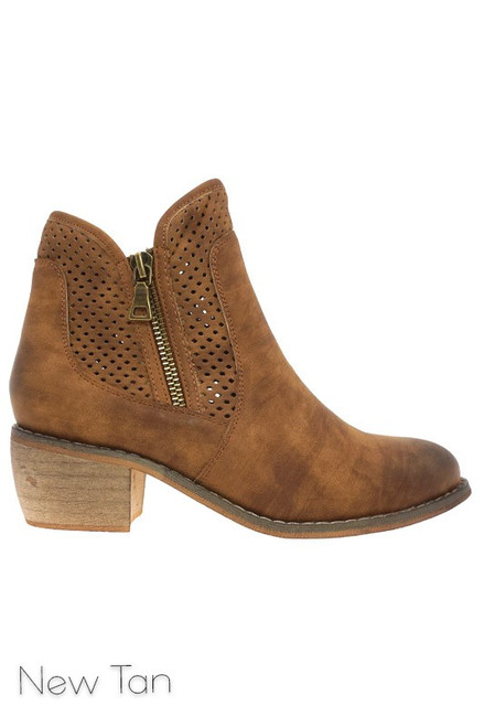 The Rusty Rose Booties