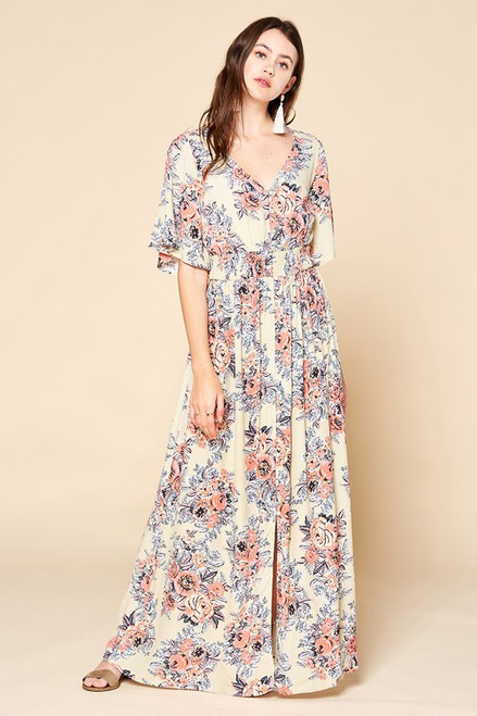 Milestone Memories Floral Maxi dress