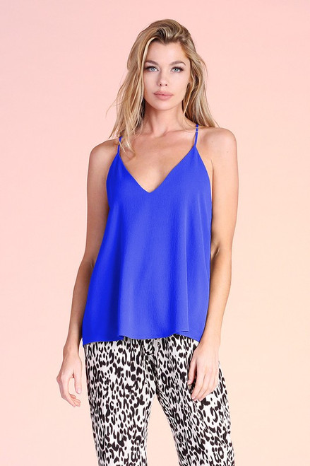Classy In Every Way Tank Royal Blue