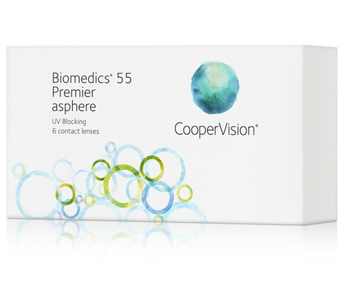Biomedics 55 Premier 6 Pack