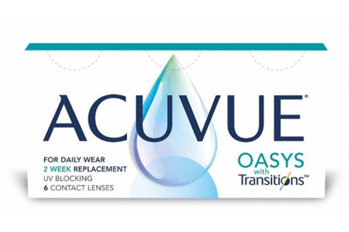 Acuvue Oasys with Transitions 6 Pack contact lenses