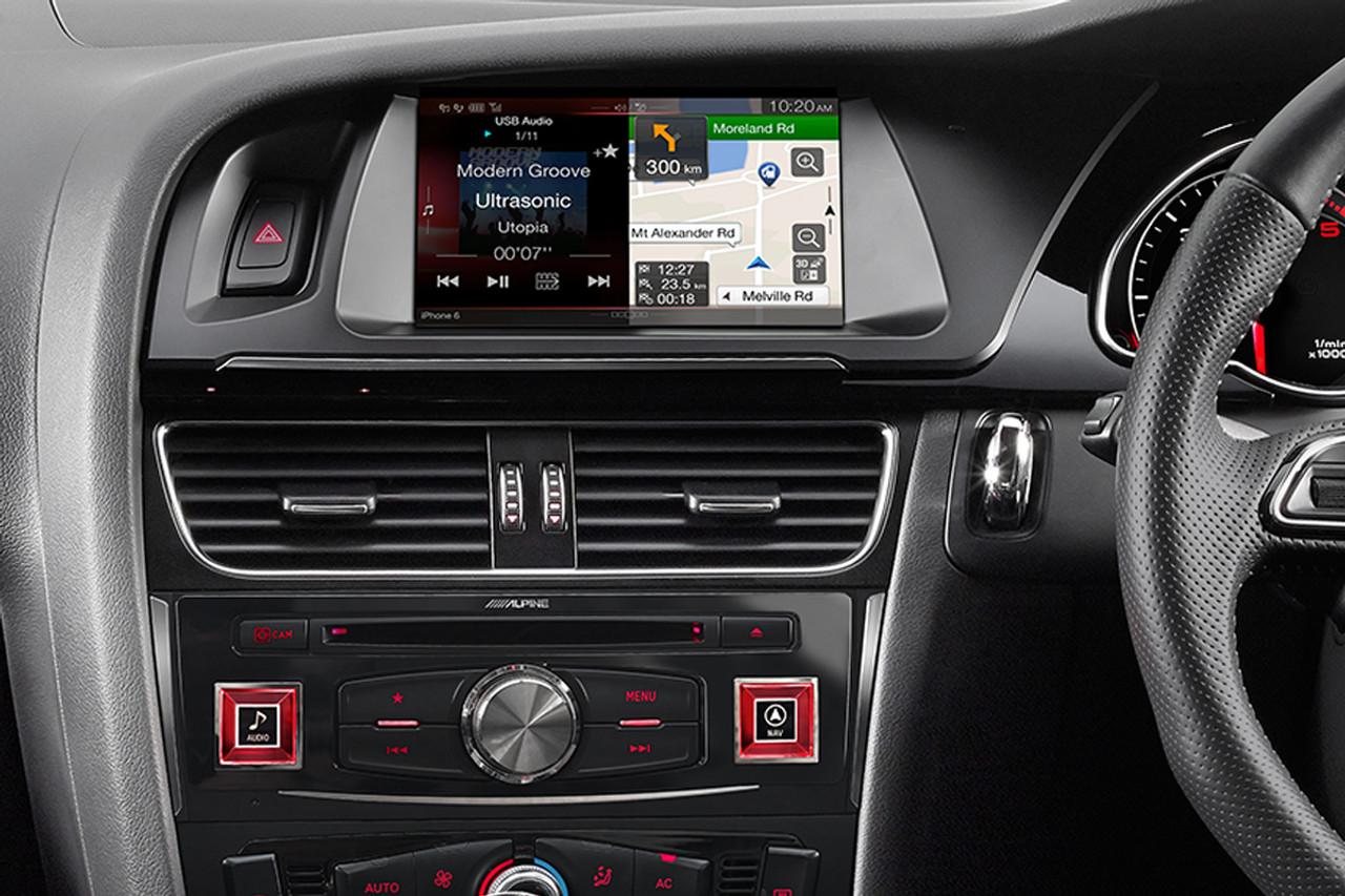 Alpine Audi A4 B8 7 Inch Premium Navigation Upgrade