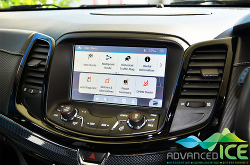 Holden ZB Commodore Navigation Upgrade