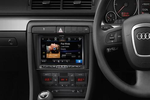 alpine audi a4 b7 8 inch premium navigation upgrade dealerfitted. Black Bedroom Furniture Sets. Home Design Ideas