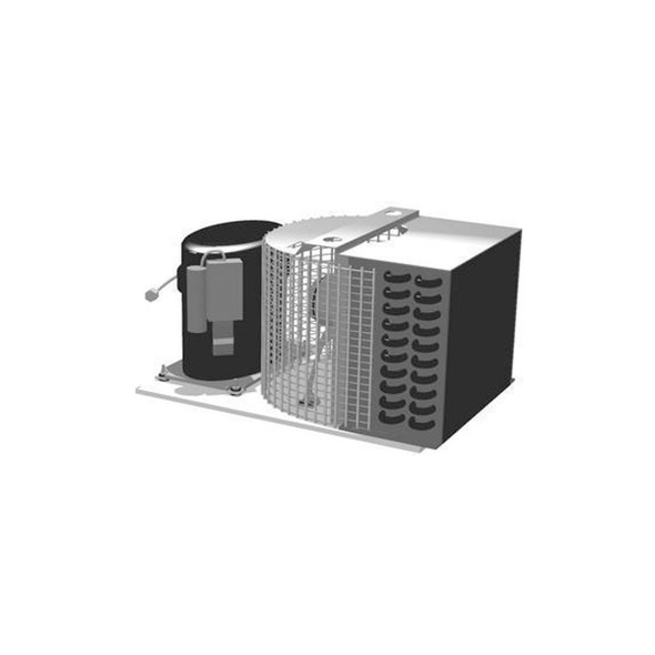 Image of the True 874546 condensing unit with all components