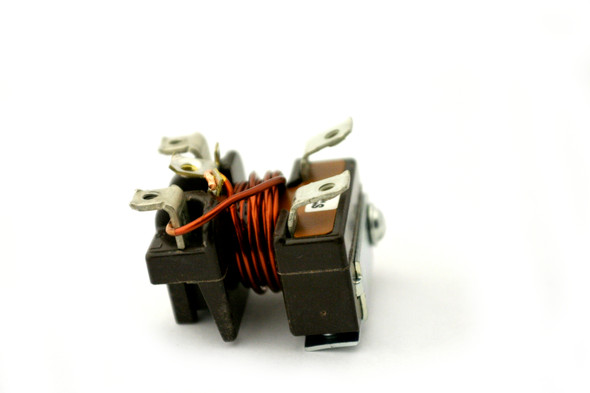 Back and left side view of a True 802113 (Tecumseh P82498-1) relay.