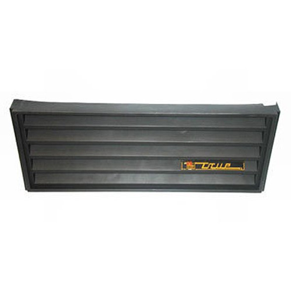 Image of the True 925781 black front grill assembly kit