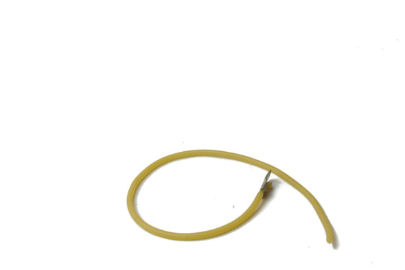 Single looped True 874100 latex door cord with one attached terminal ring