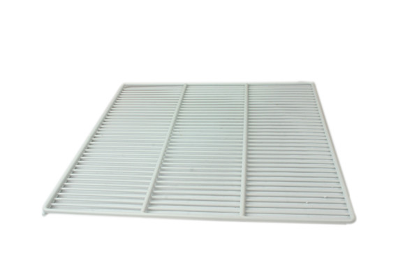 Angle view of the shelf in the True 226918-038 shelving kit