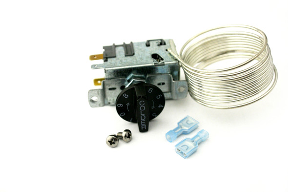 View of the kit assembly for the True 988282 (Danfoss 077B6806) temperature control