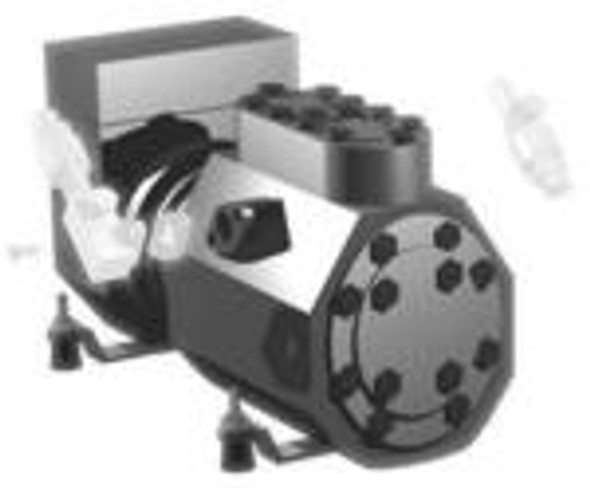 Image of the True 842084 compressor by Copeland (KALB-015E-CAV-232)