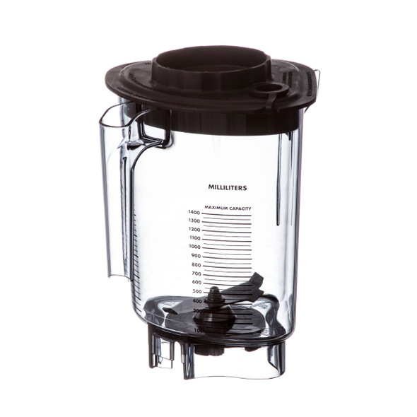 View of the milliliters Vitamix 15216 Advance Container Assembly with Blade and Rubber Splash Lid