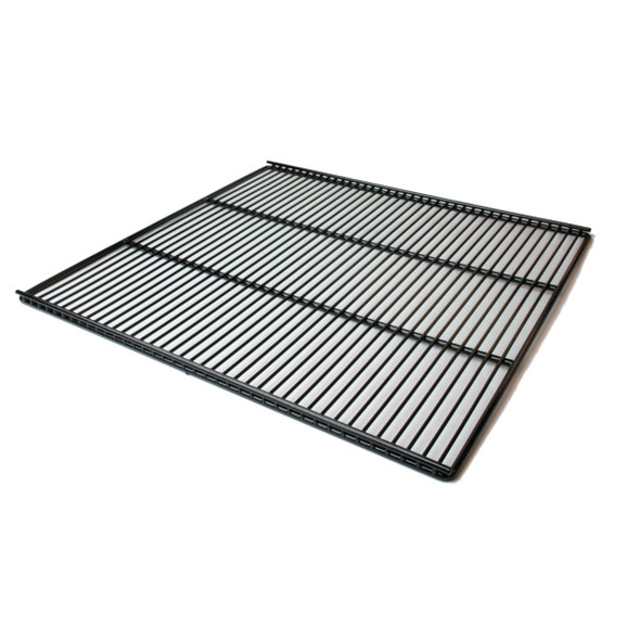 Diagonal view of black wire True 222501-093 (replaces 875333) shelf.