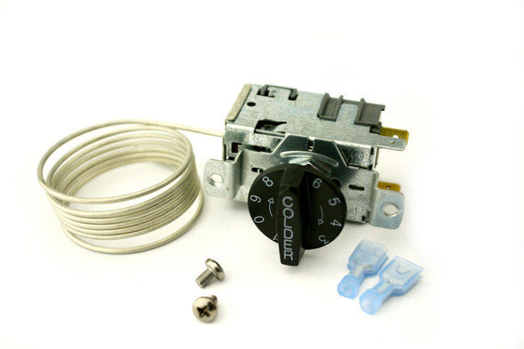 Image of all the components in the True 988294 (replaces 988285 & 800368) temperature control by Danfoss (077B6857)