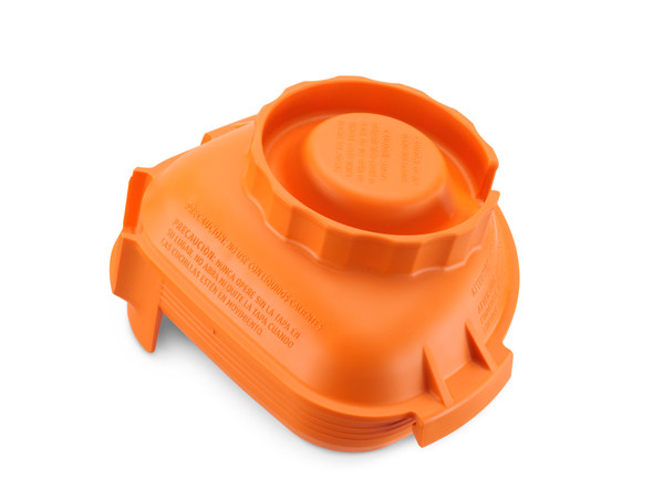 Vitamix 58994 Orange Rubber Lid for 48 oz Advance Container
